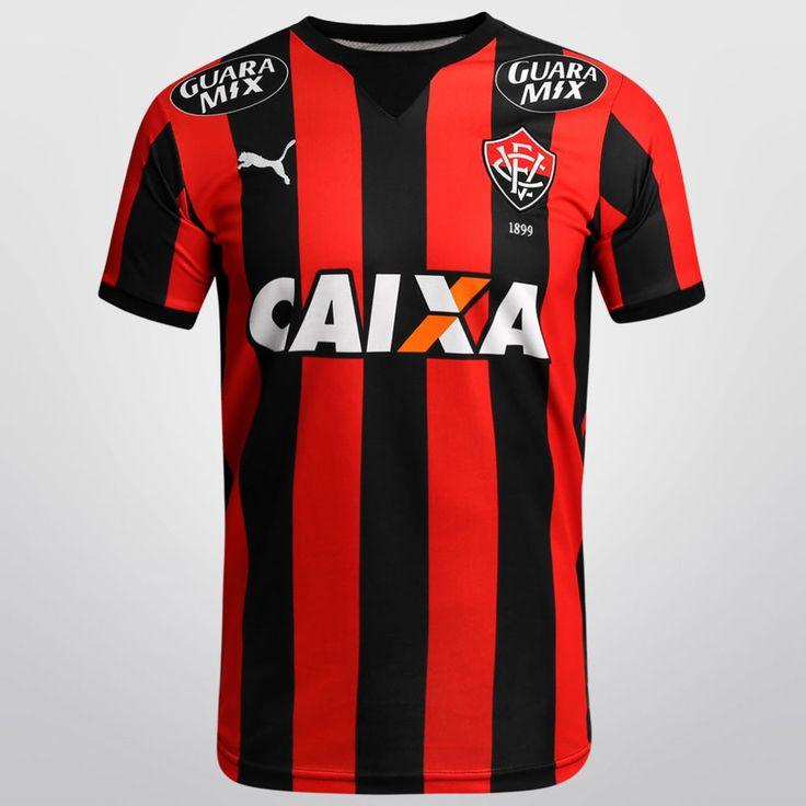 EC Vitória da Bahia Brazil Puma Soccer Football Maglia Jersey Maillot Trikot   #Puma