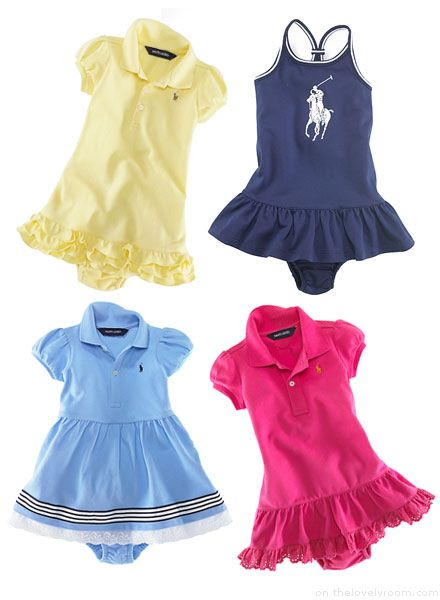 So Baby Polo Chic! I would prob never wear polo but on a baby so cute