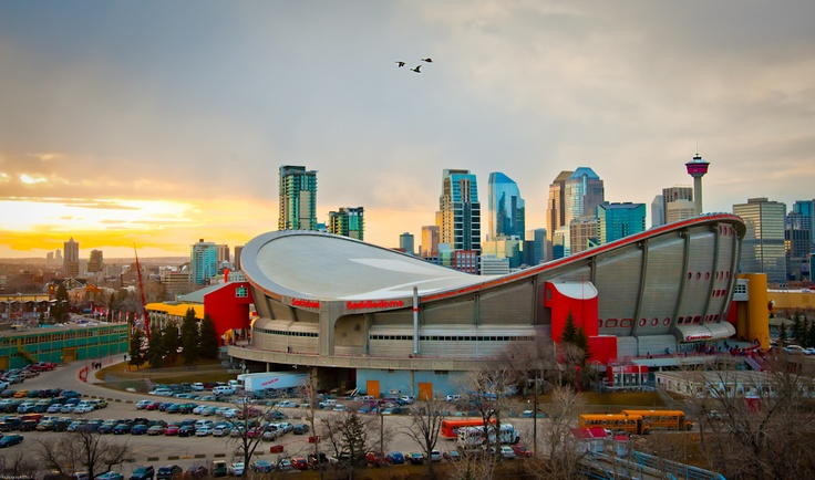 Calgary Flames Saddledome in Calgary