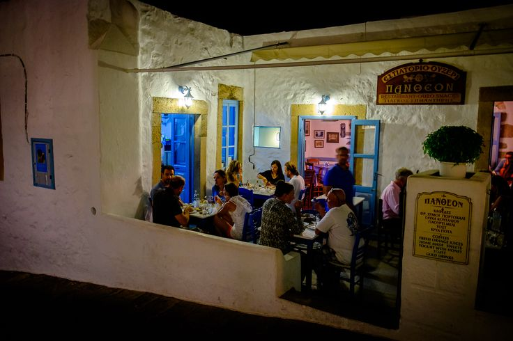 Just a beautiful scene of a night at #Patmos Photo by: @Ioannis D. Giannakopoulos on www.flickr.com