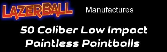 50 Caliber Low Impact Paintless Paintballs are great for JT Splatmaster & other 50 Caliber Paintball Guns