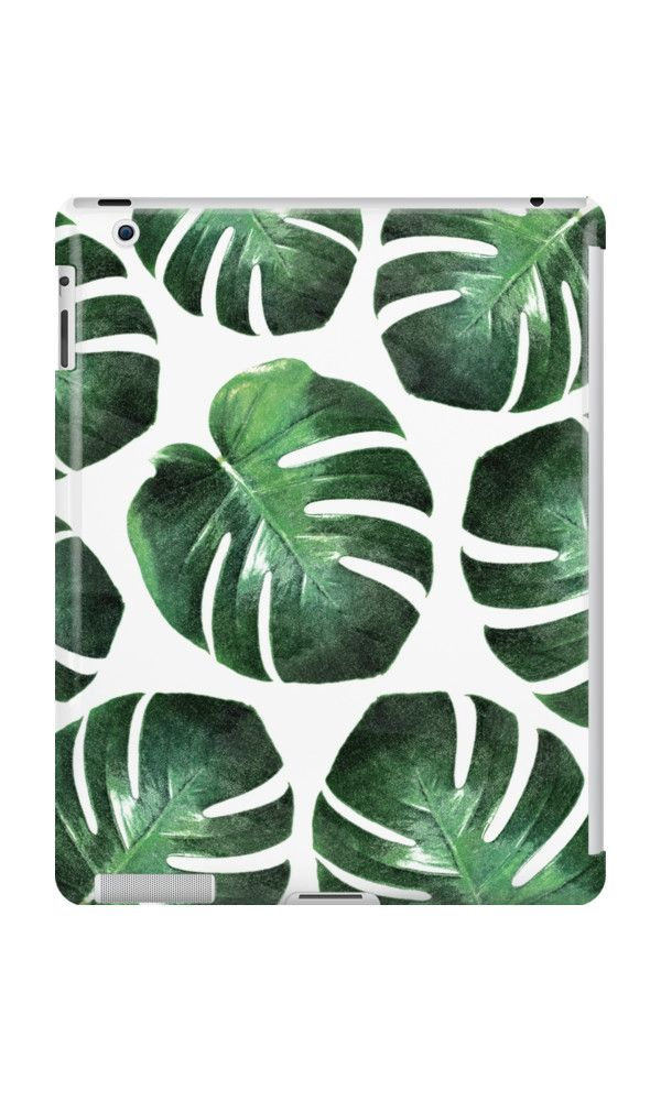 TROPICAL LUSH by adventura #ipadcase #ipad #case #monstera #trend #monsteratrend #botanictrend #leaf #monsteradeliciosa #accessory #decor #trending #trendy #green