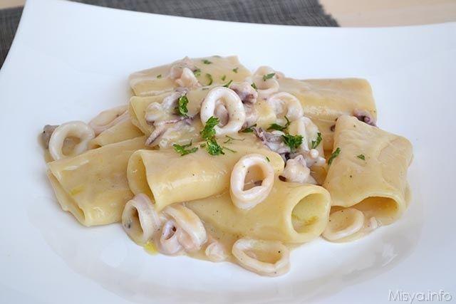 » Paccheri con crema di patate e pecorino Ricette di Misya - Ricetta Paccheri con crema di patate e pecorino di Misya