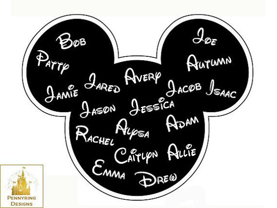Im going to disney world family vacation matching t shirts mickey mouse ears iron on transfer diy custom decal printable personalized