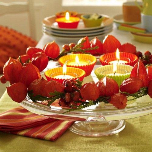 Fall Table Decorating Idea