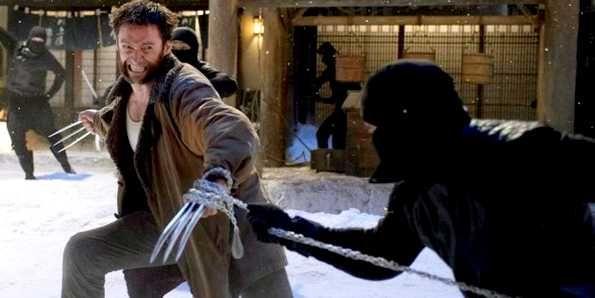 Une statue du mutant Wolverine au Canada.