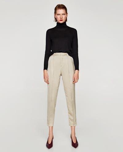 retro elegante y elegante la venta de zapatos pantalones para mujer rebajas online zara españa brb355913 ...