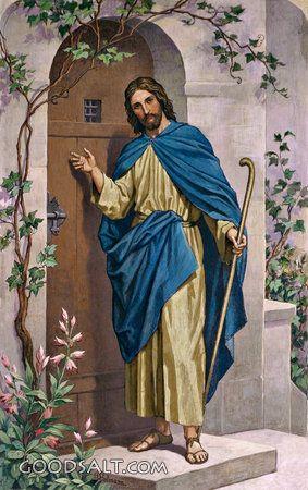 Christ Knocking at the Door - Standard Publishingu0027s Classic Bible Art Collection  sc 1 st  Pinterest & 92 best Let Jesus In images on Pinterest | Catholic art Christian ...