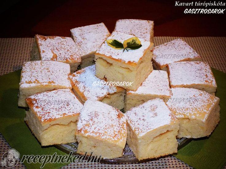 A legjobb Kavart túrópiskóta recept fotóval egyenesen a Receptneked.hu gyűjteményéből. Küldte: Balog Erika