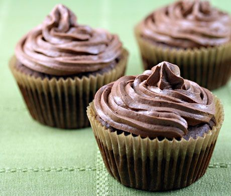 My favorite sugar-free chocolate cupcakes, from The Perfect Pantry.