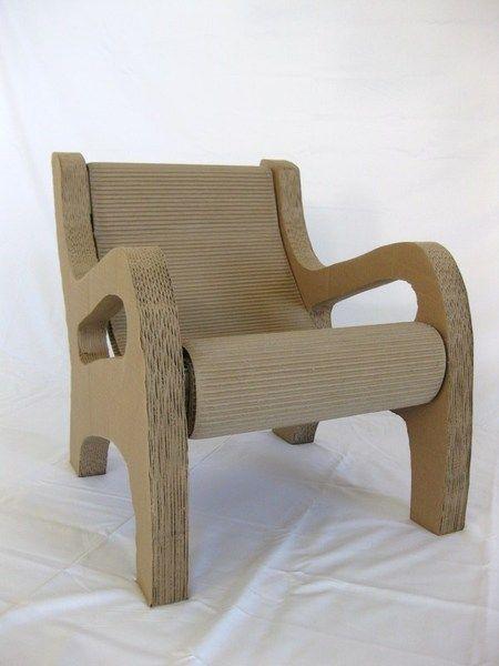Kid's Cardboard Hammock Chair by motoki king, via Behance