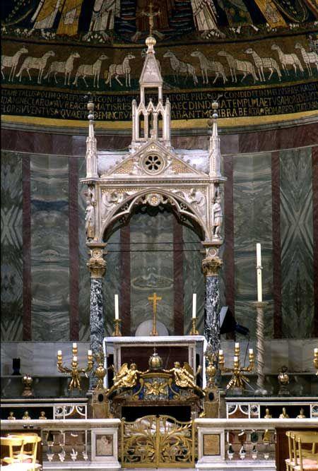 Arnoldo di Cambio, Ciborio Santa cecilia in Trastevere, 1293
