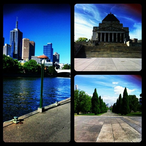 I love the yarra river,, The parkes, Art gallery, Architecture, Trams, Dandenong ranges,coffe shops and Restuarants