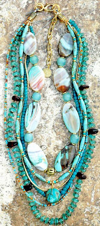 Custom Sea Glass Necklace~♛