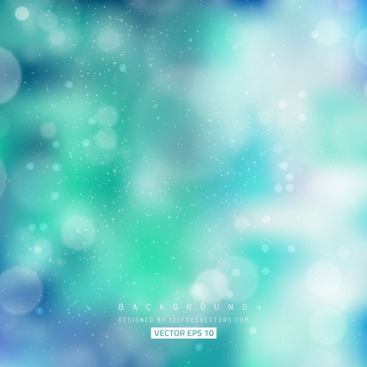 Turquoise Bokeh Effects  - https://www.123freevectors.com/turquoise-bokeh-effects/