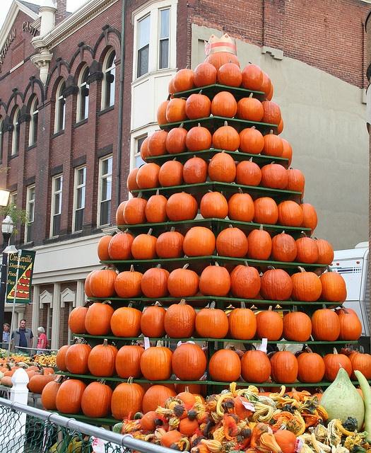 Circleville Pumpkin Shows Pumpkin Tower | Flickr - Photo Sharing!