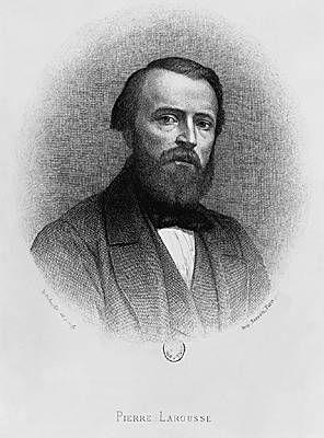 Pierre Larousse (1817 - 1875), né à Toucy, lexicographe et éditeur français.