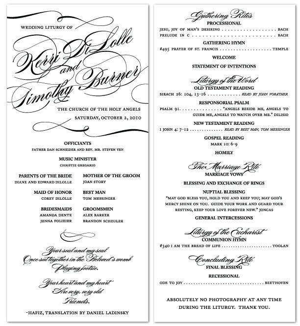 Wedding Ceremony Script, Vow