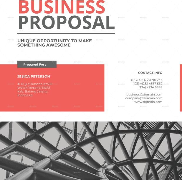 35 Business Proposal Template Word Docs Download Texty Cafe Word Template Design Business Proposal Template Proposal Design
