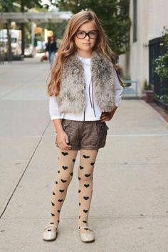 #outfit #invierno #moda #niñas