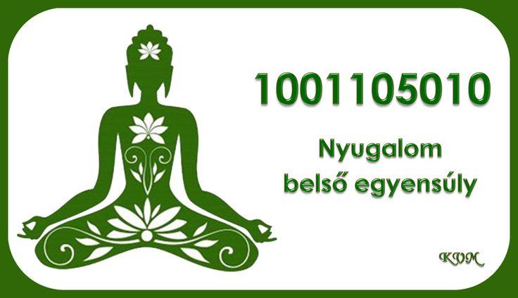 Nyugalom, belső egyensúly