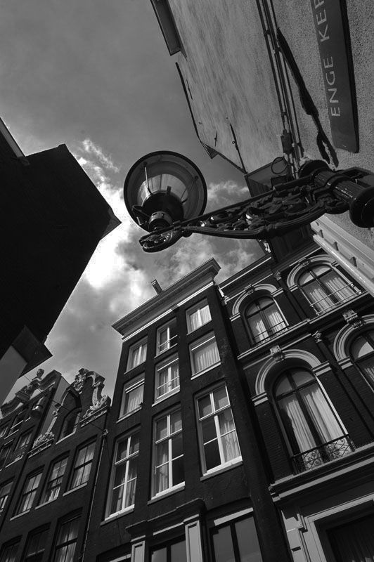 Typical Dutch Home, Amsterdam, Netherlands