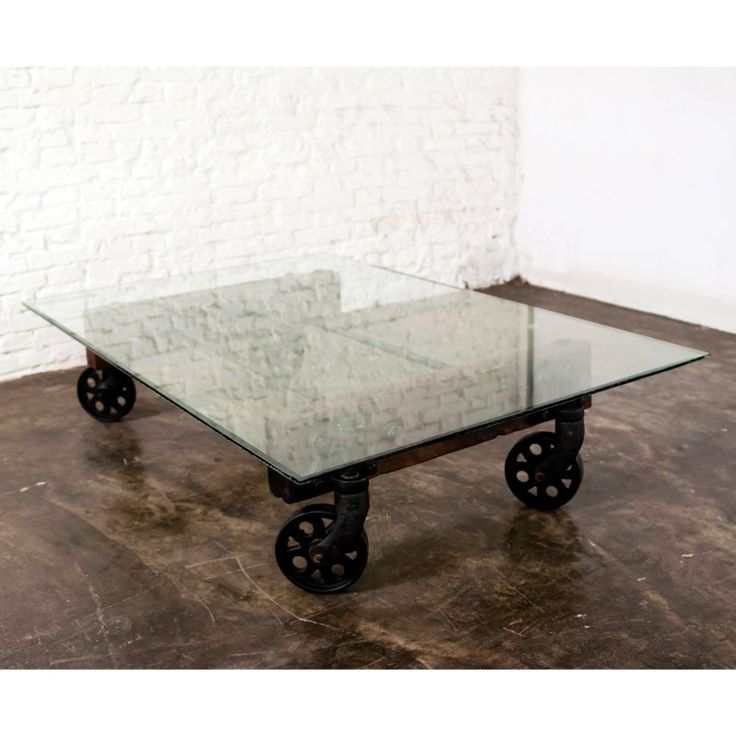 Nuevo V35 Rectangle Glass Top Coffee Table with Wheels - HGDA120 - 25+ Best Ideas About Glass Top Coffee Table On Pinterest Wood