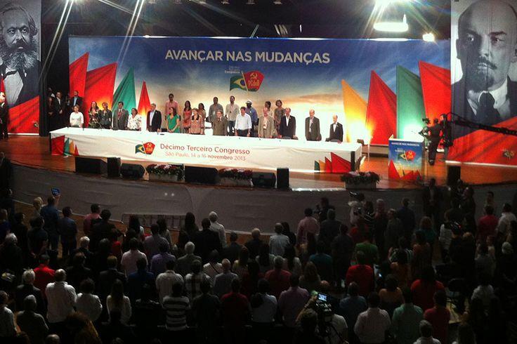 Dilma Roussef participa do congresso do Partido Comunista do Brasil | #ComunismoBrasil, #Democracia, #DilmaRoussef, #FernandoHaddad, #OrlandoBraga, #PartidoComunistaDoBrasil