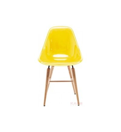 chaise forum jaune bois design kare design galeries lafayette - Liste Mariage Galerie Lafayette