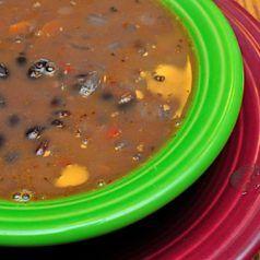 Pressure Cooker Black Bean Soup – Dad Cooks Dinner