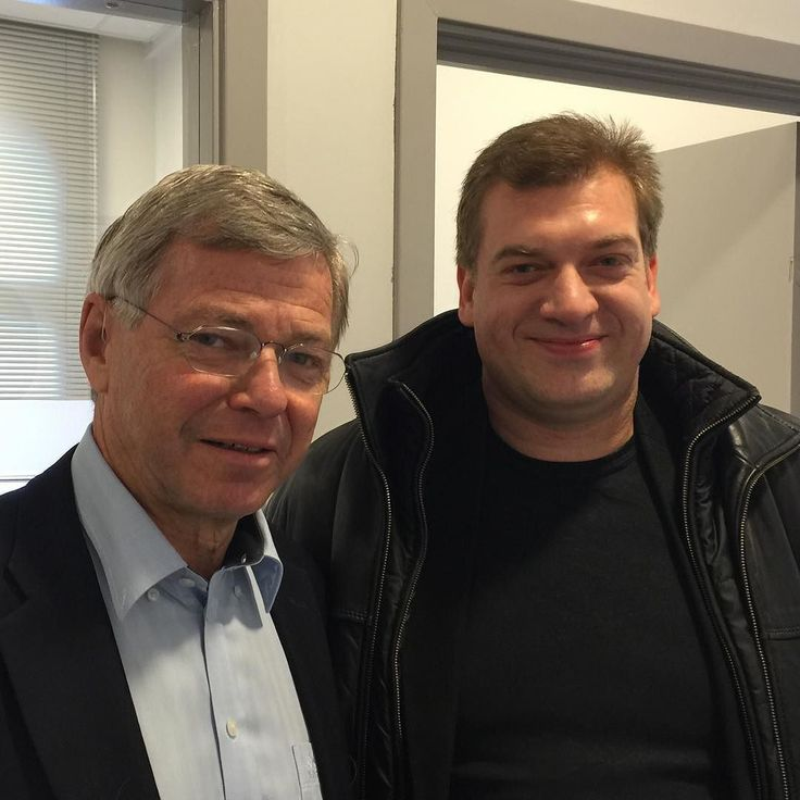 Had an interesting chat with Norways former state minister mr Bondevik