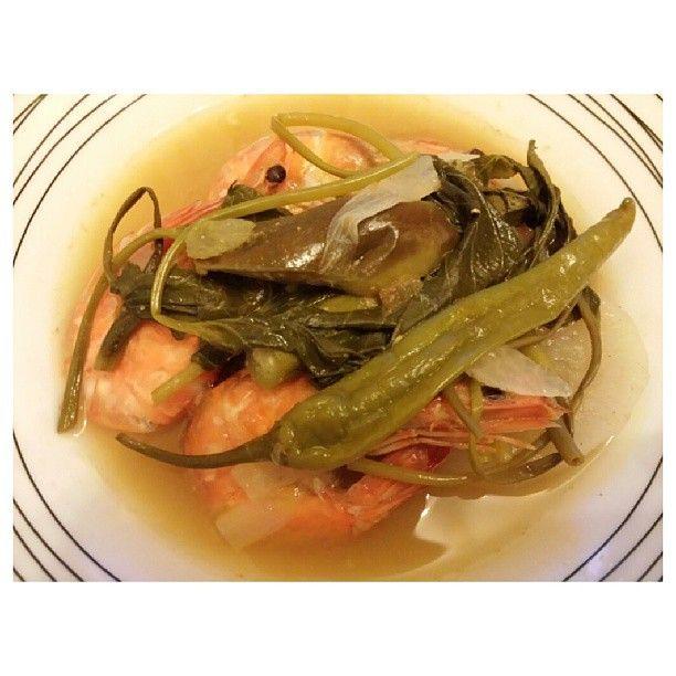 #siniganghipon for #dinner #yummy #filipino #food #sinigang #shrimp #philippines #海老 の #シニガン #フィリピン料理 #晩ごはん #フィリピン