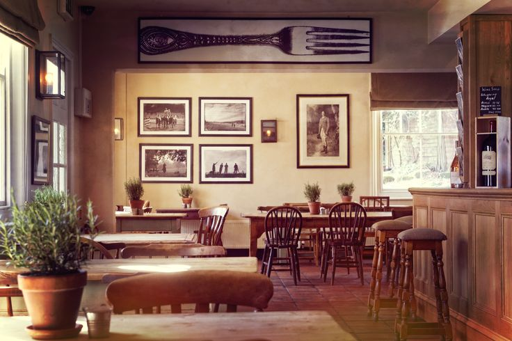 The beautiful interior of the King John Inn, a unique country pub in Tollard Royal, Wiltshire. Stay at this hotel: http://bit.ly/1V9XKmz #English #country #pub #visit #gourmet #charming