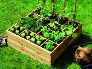carr potager jardin pinterest carr potager potager et carr. Black Bedroom Furniture Sets. Home Design Ideas
