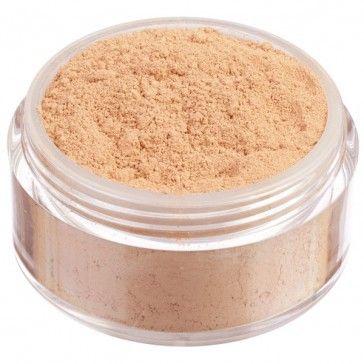 Fondotinta in polvere libera 100% minerale, nuova formulazione High Coverage ad alta coprenza. Tonalità scura dal sottotono caldo e mediterraneo.