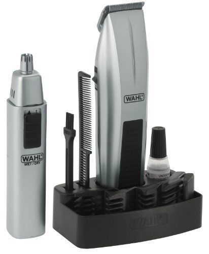 Wahl Mens Beard Trimmer and Mustache Shaving Hair Removal Carbon Steel Blade  #Wahl