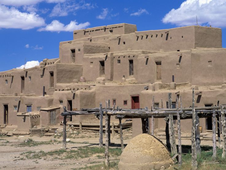 Taos Pueblo, Taos, New Mexico.....stopped and ate here on the way to Philmont....Pat