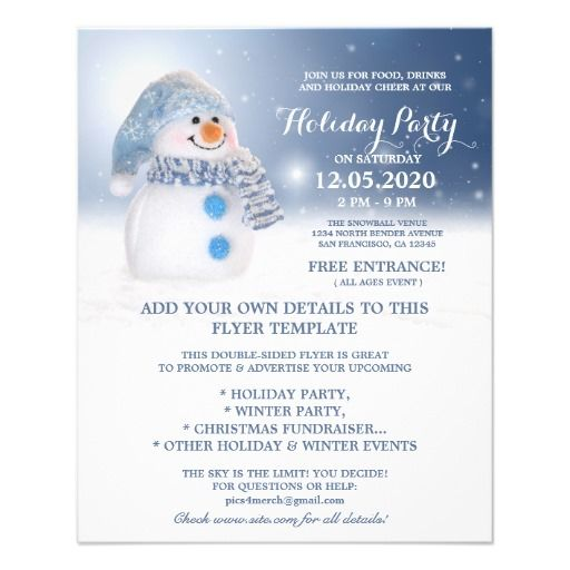 32 best images about Christmas And Holiday Party Flyers on – Holiday Party Flyer Template