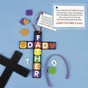 Religious dad cross craft kit. Father's Day crafts for kids.  http://www.apples4theteacher.com/holidays/fathers-day/kids-crafts/religious-dad-cross.html