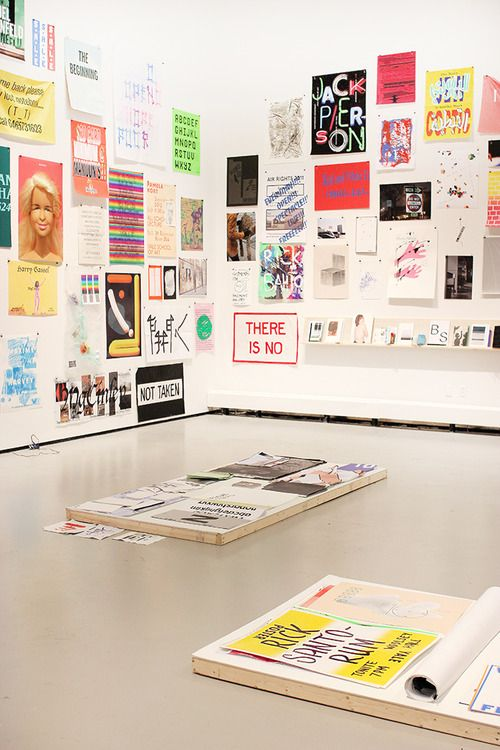 yalegraphicdesign: 2013 Yale Graphic Design MFA Show / Yale has an MFA gd program. I could go to Yale...