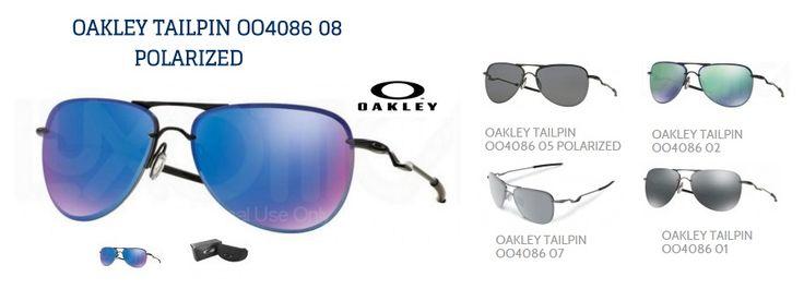 Oakley Tailpin; el nuevo modelo de Oakley en gafas de sol de estilo urbano Estas gafas deportivas están pensadas para aquellos deportistas que les gusta las estructuras clásicas pero no quieren renunciar a un estilo moderno e innovador.