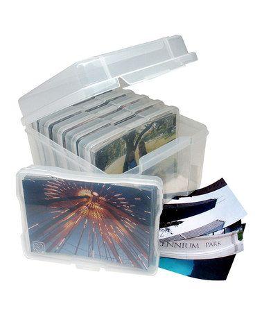 Another great find on #zulily! Photo & Craft Storage Box #zulilyfinds