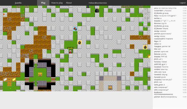 Bombermine, un juego online multijugador para rememorar el clásico Bomberman