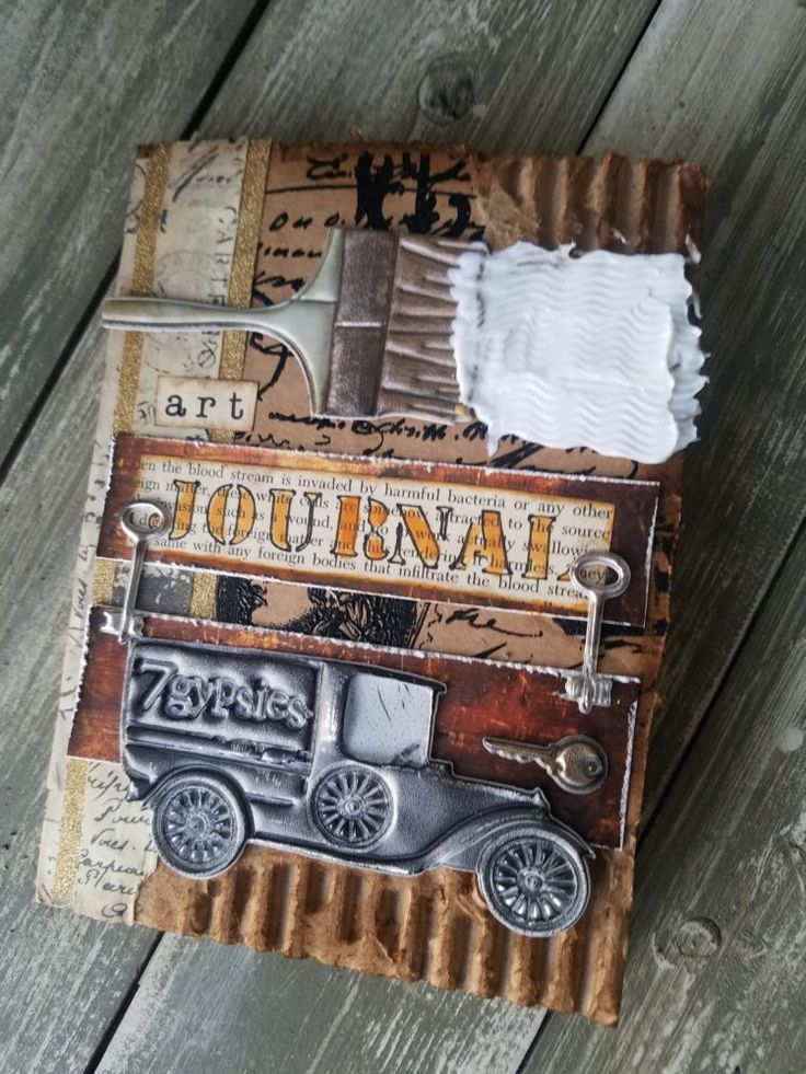 Junk Journal 7gypsies Style - Win Exclusive Swag and Handmade Junk Journal architextures giveaway