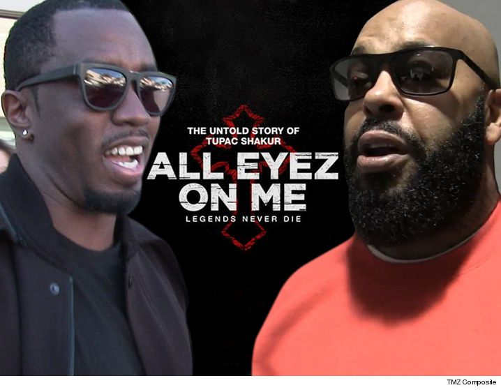 Diddy and Suge Knight Have No Beef with Tupac Movie 'All Eyez On Me'