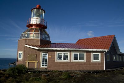 Chile Lighthouse | The lighthouse at Cape Horn, manned by members of the Chilean Navy