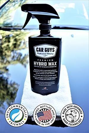 CarGuys Hybrid Spray Wax Sealant, 18 Ounce Kit