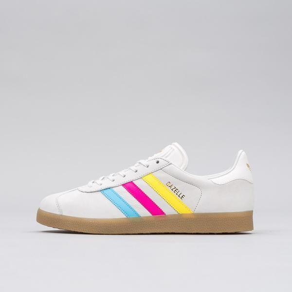 adidas Gazelle in Vintage White/Cyan/Magenta/Yellow BB5252 Notre 1