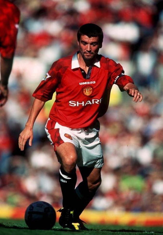 Roy Keane, Manchester United.