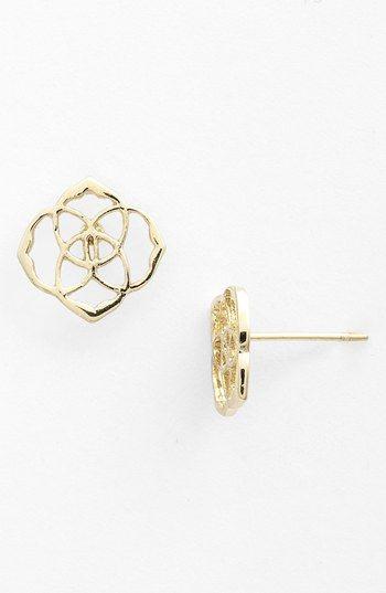 Kendra Scott 'Dira' Stud Earrings   Nordstrom. Love these! So delicate.